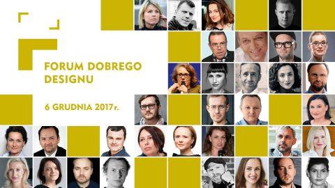 Dla kogo i jak będziesz projektować jutro? V Forum Dobrego Designu w Warszawie.